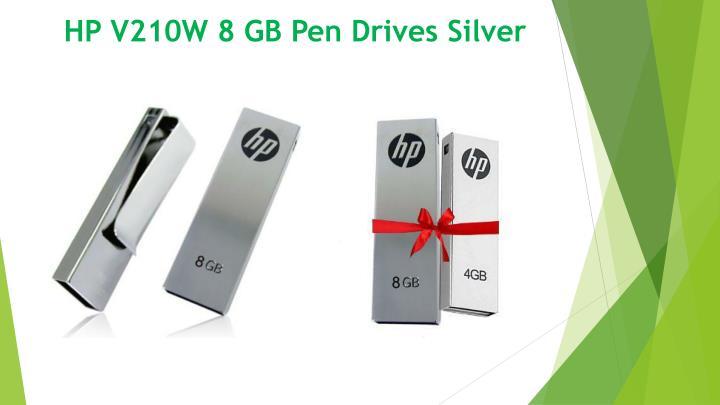 HP V210W 8 GB Pen Drives