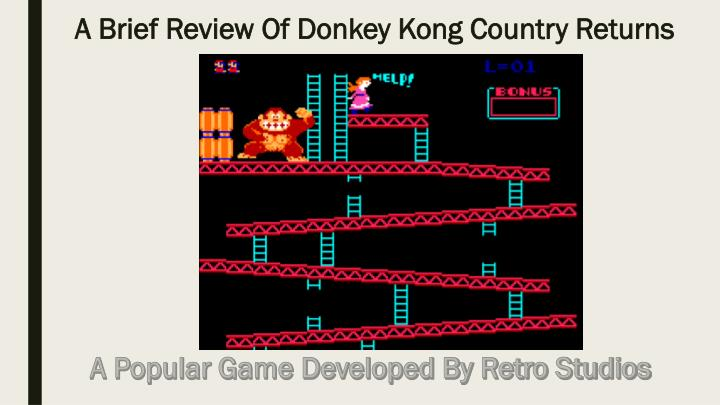 google unblocked games donkey kong
