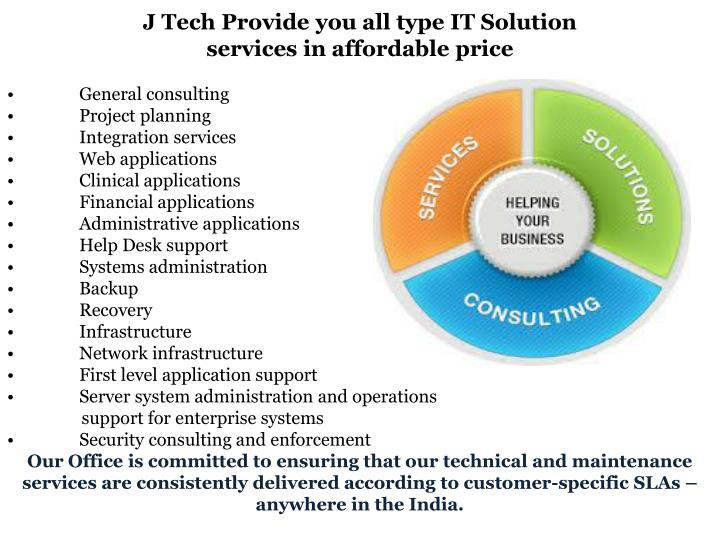 types of service providers in the