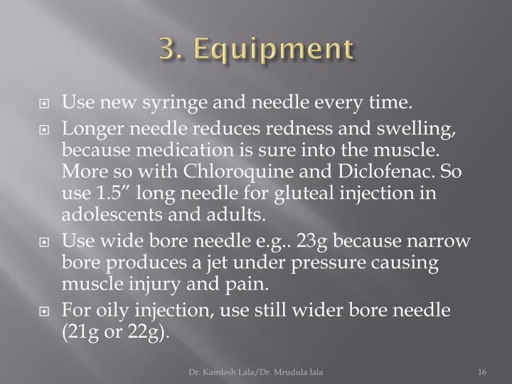 3. Equipment