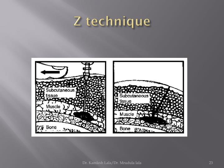 Z technique