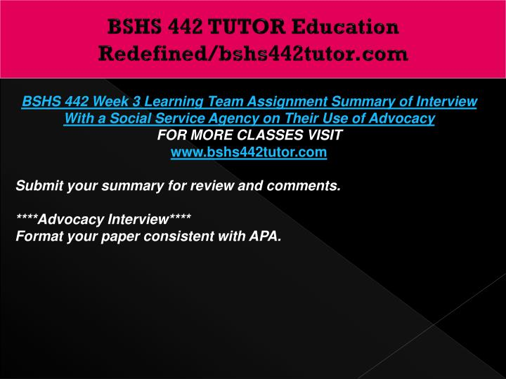 bshs 442 clss uofp Read this essay on bshs uop bshs 442 uop tutorial contact us at.