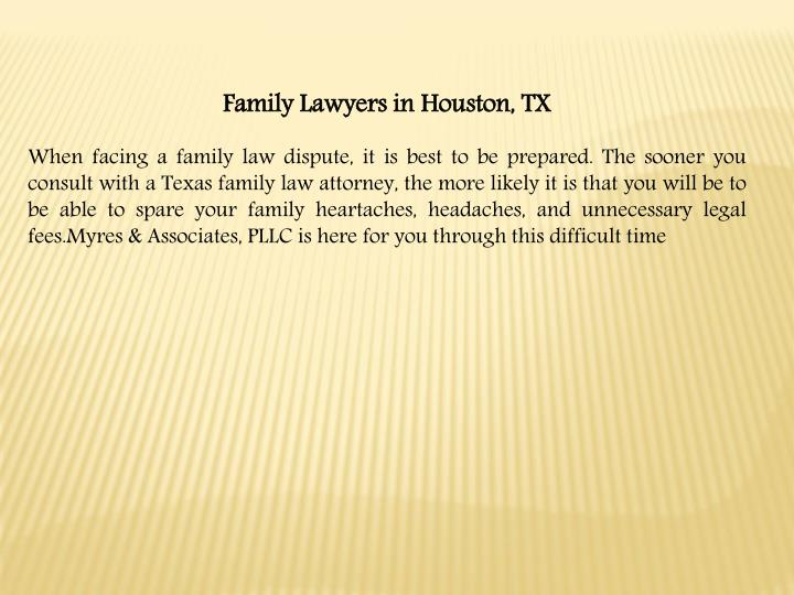 Family Lawyers in Houston,
