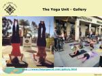 the yoga unit gallery