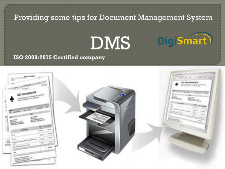 providing some tips for document management system n.