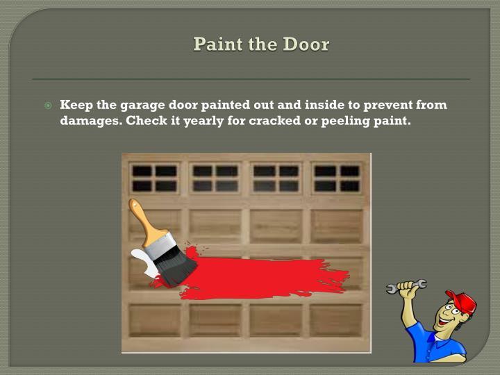 Paint the Door