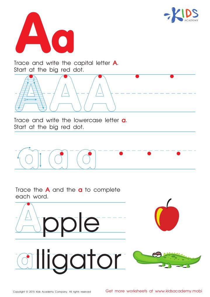 PPT - Free Printable Alphabet Worksheets PowerPoint Presentation, Free  Download - ID:7379133