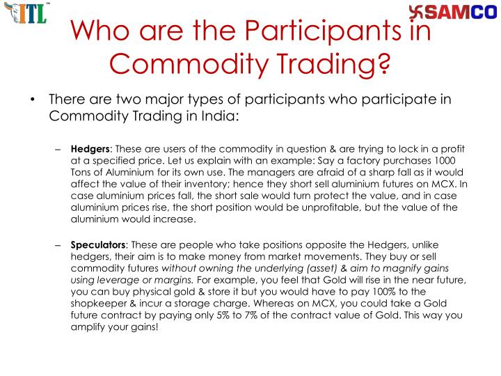 PPT - Open Online Commodity Trading Account in Indian ...