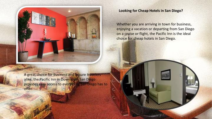 Looking for Cheap Hotels in San Diego?