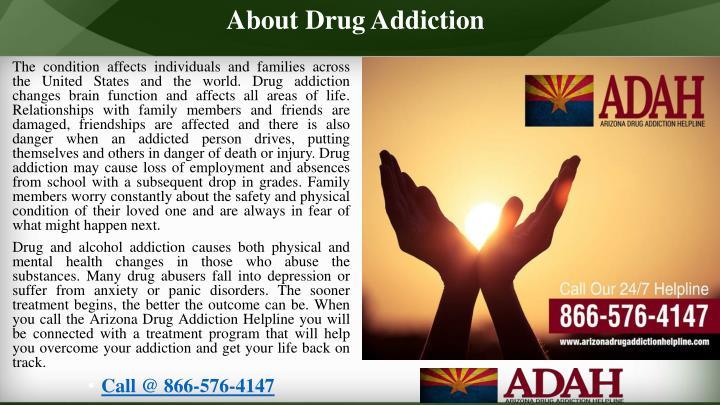 About Drug Addiction