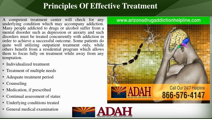 Principles Of Effective Treatment