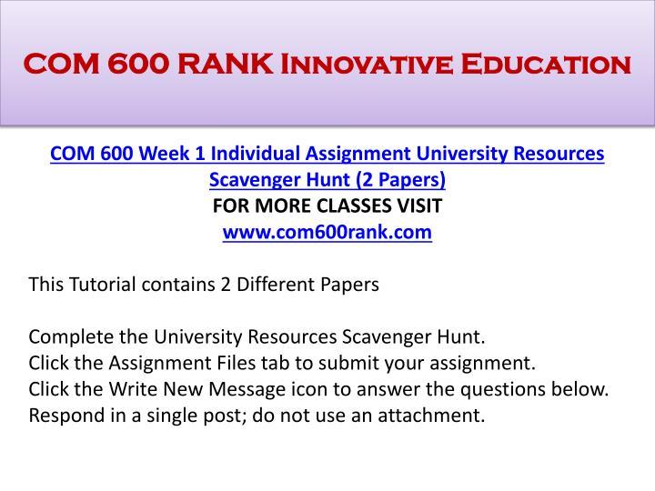 Com 600 rank innovative education1