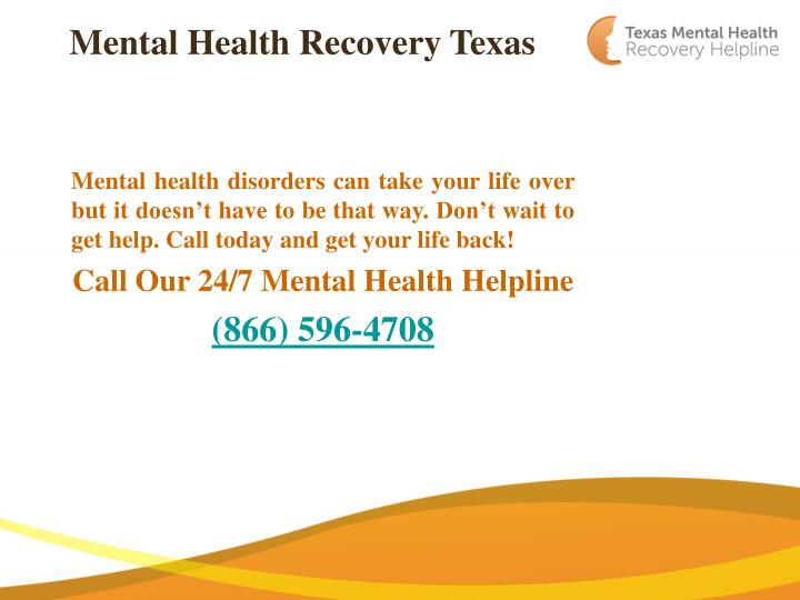 mental health recovery texas n.