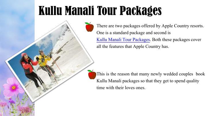 Kullu Manali Tour Packages