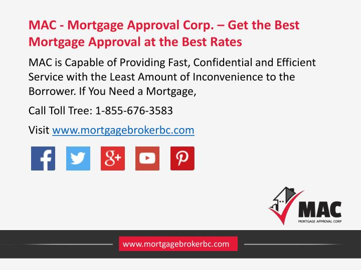 MAC - Mortgage Approval Corp. – Get the Best Mortgage Approval at the Best Rates