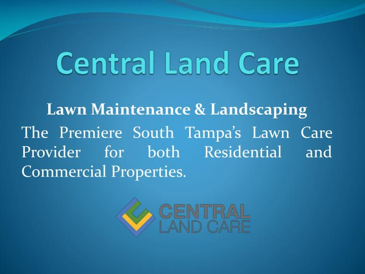 central land care n.