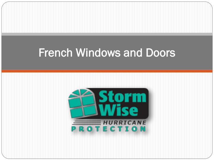 french windows and doors n.