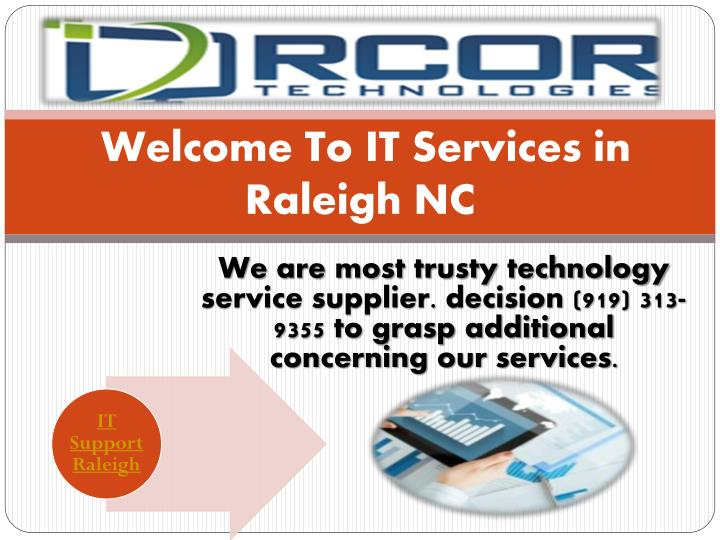 welcome to it services in raleigh nc n.