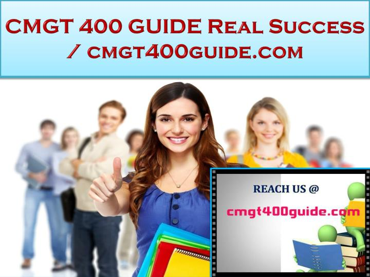 cmgt 400 guide real success cmgt400guide com n.
