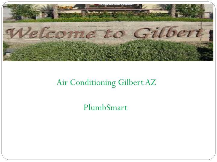 Air Conditioning Gilbert AZ