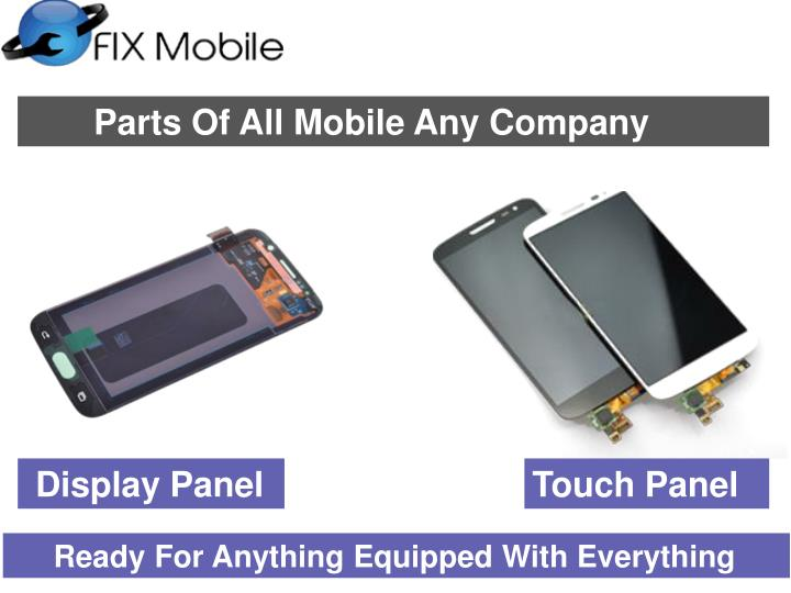 Parts Of All Mobile Any Company