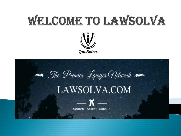 welcome to lawsolva n.