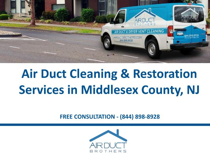 air duct cleaning restoration services in middlesex county nj n.