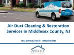 air duct cleaning restoration services in middlesex county nj