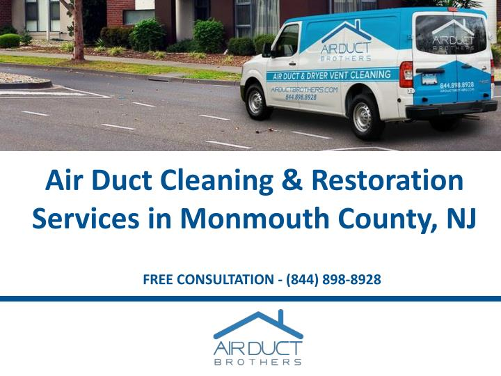 air duct cleaning restoration services in monmouth county nj n.