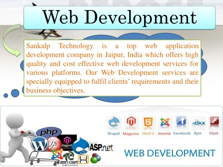 Sankalp Technology is a top web application development company in Jaipur, India which offers