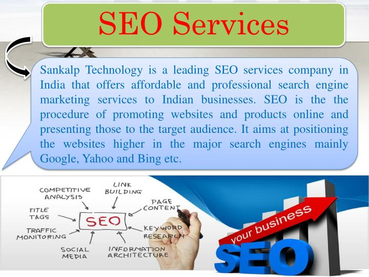Sankalp Technology is a leading SEO services company in India that offers affordable and professional search engine marketing services to Indian businesses