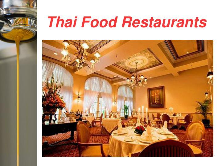 Thai Food Restaurants