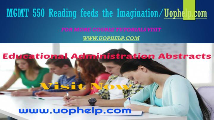 mgmt 550 reading feeds the imagination uophelp com n.