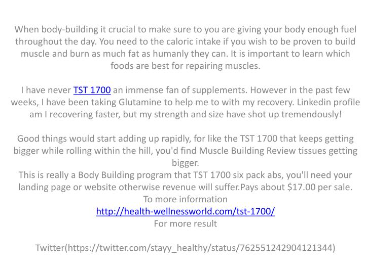 When body-building it crucial to make sure to you are giving your body enough fuel throughout the da...