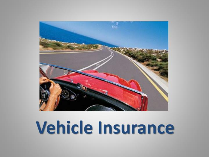 vehicle insurance n.