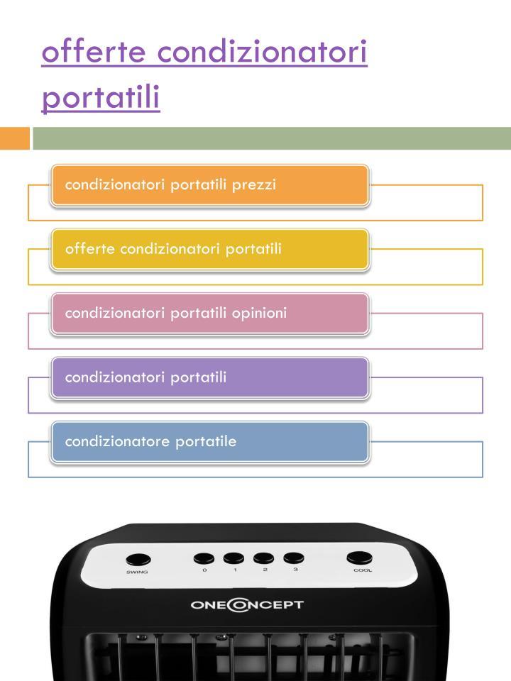 Offerte condizionatori portatili