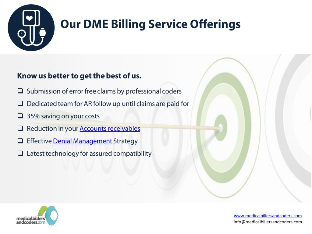 PPT - DME Billing Services PowerPoint Presentation - ID:7384078