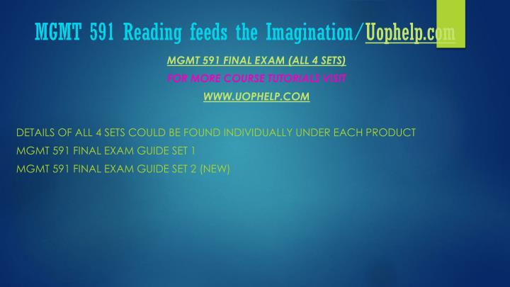 Mgmt 591 reading feeds the imagination uophelp com2