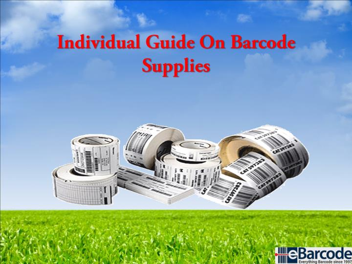 individual guide on barcode supplies n.