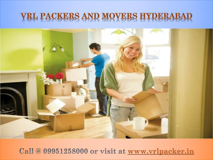 vrl packers and movers hyderabad n.