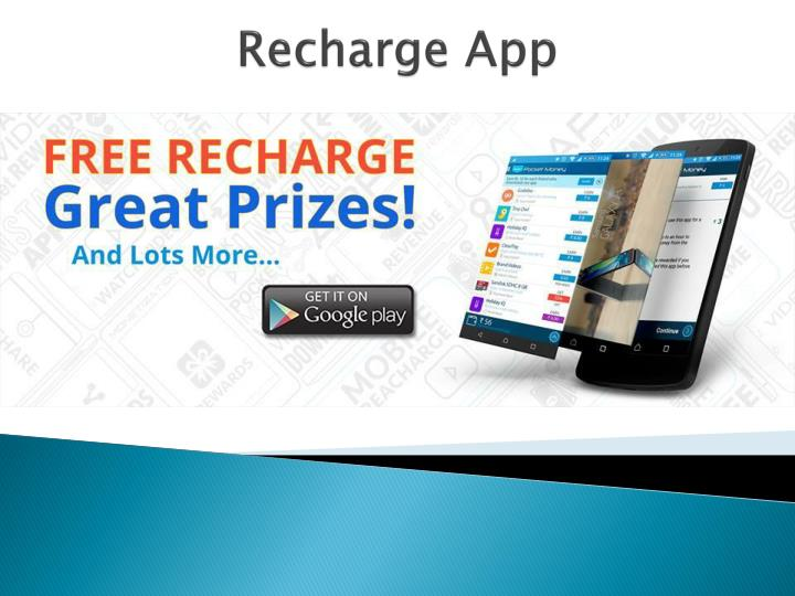 PPT - How can you earn free recharge for your smartphone