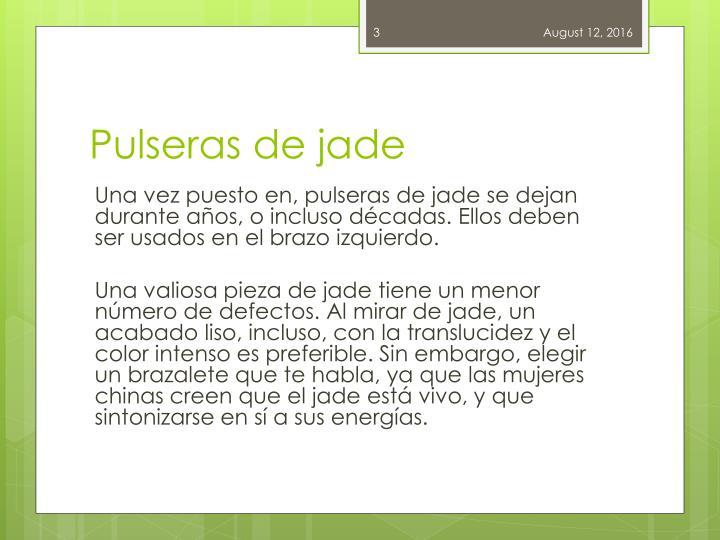 Pulseras de jade1