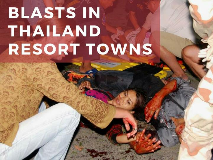 impacts in thailand resort towns n.