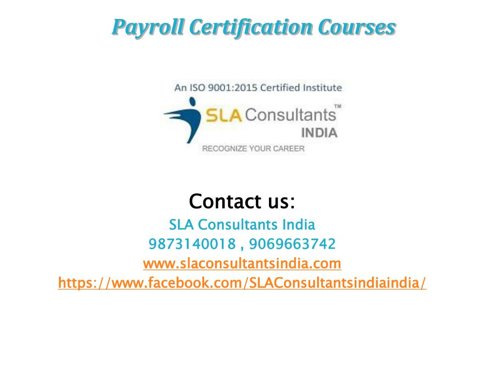 Ppt Payroll Certification Courses Powerpoint Presentation Id7385164