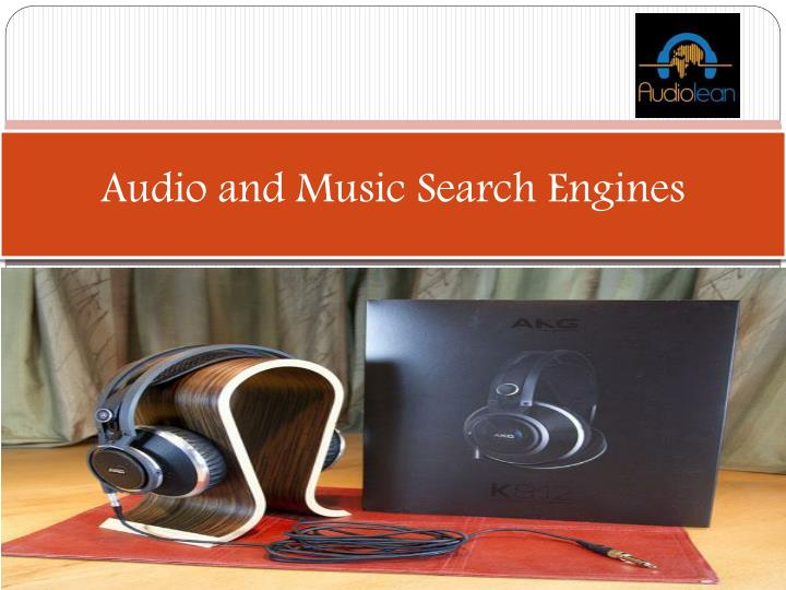 audio and music search engines n.