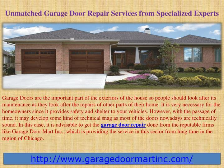 unmatched garage door repair services from specialized experts n.