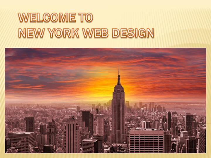 welcome to new york web design n.