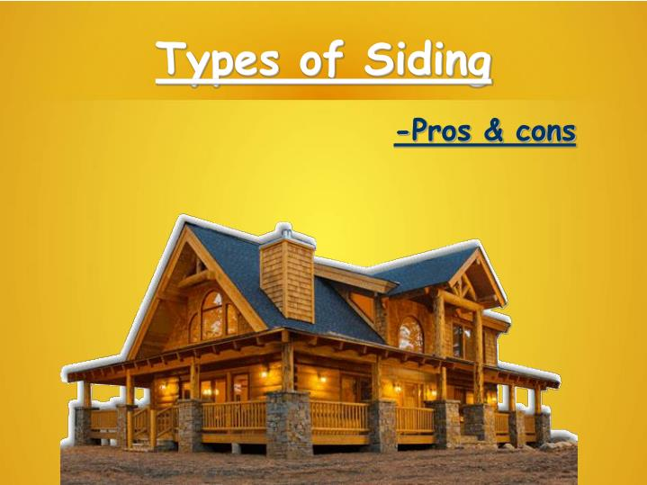 types of siding n.