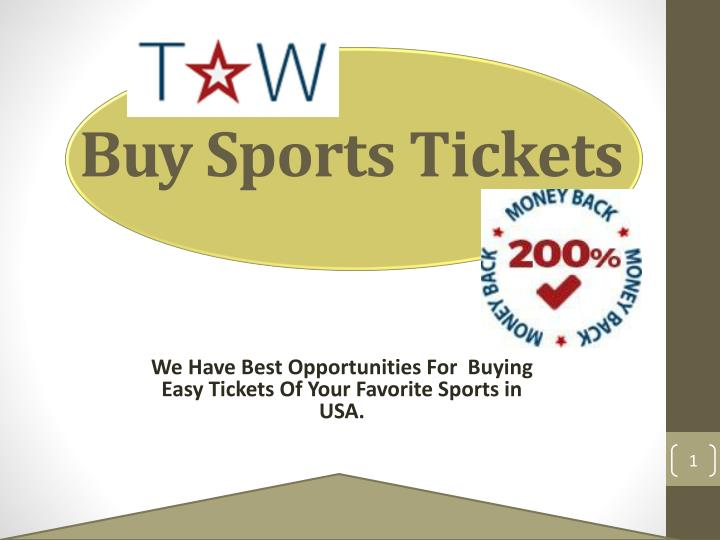 we have best opportunities for buying easy tickets of your favorite sports in usa n.