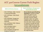 acc 410 course career path begins acc410 dotcom1